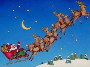 santa claus sleigh duplicate