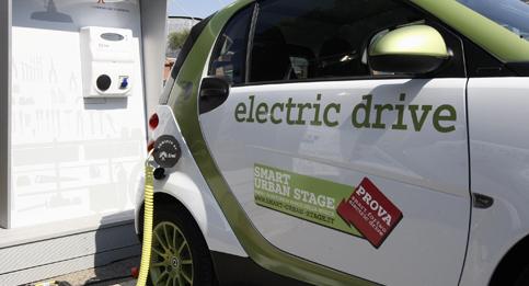 Io rispetto l'ambiente con l'auto elettrica