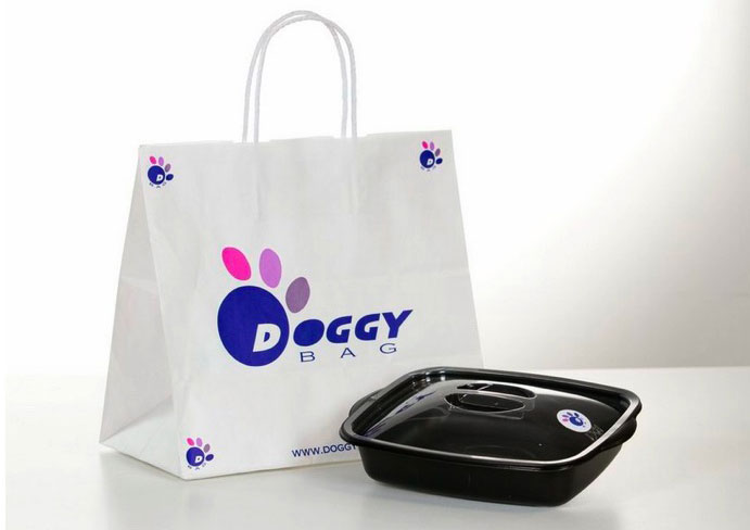 Non lo mangio, lo porto via con la doggy bag