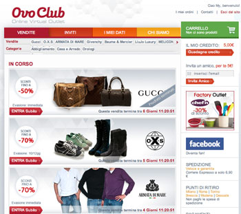 Occasioni online: arrivano i Flash Sales