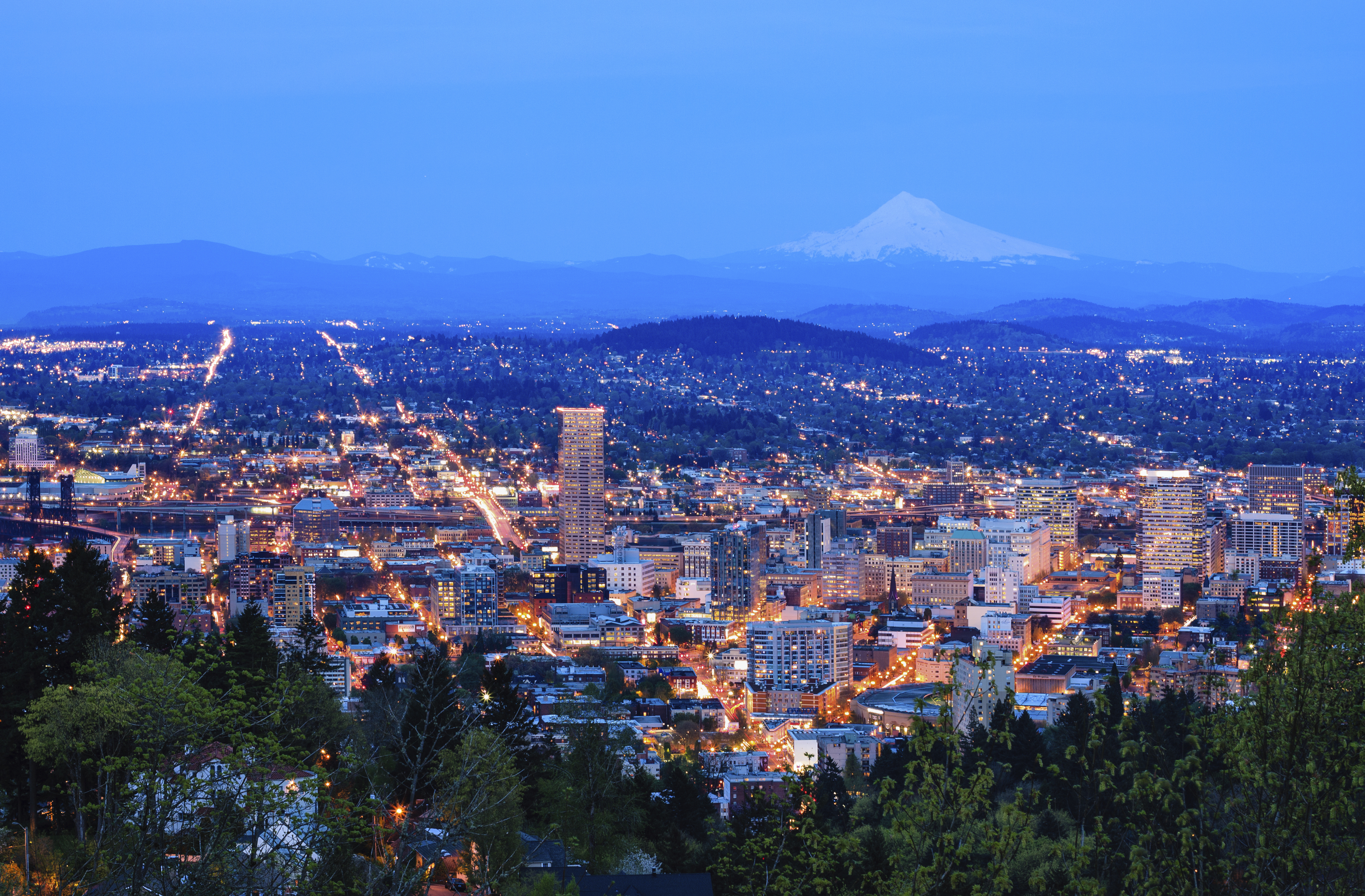 Portland: Piste ciclabili (oltre 400 km) e aree verdi sono le vere protagoniste nel cuore dell'Oregon