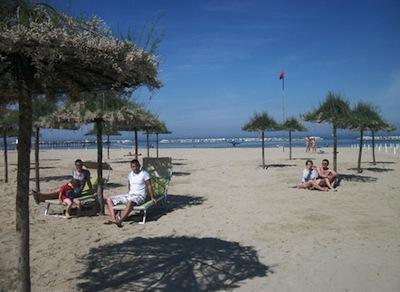 Quando una spiaggia è eco