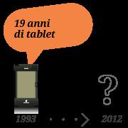 19 anni di tablet