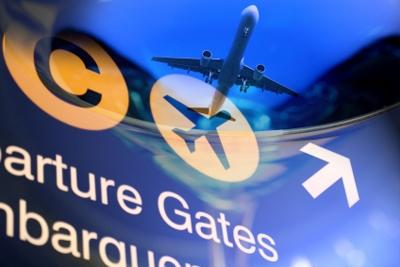 Restare bloccati in aeroporto può essere divertente