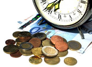 Il tempo è denaro, e lo custodisco in banca