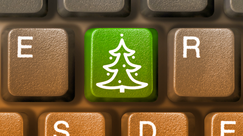 Natale 2013, sempre più online