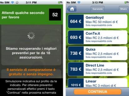 Auto: app per risparmiare