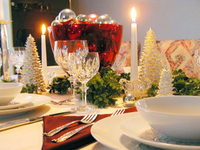 La mia tavola di Natale, semplice ma elegante  Voce Arancio