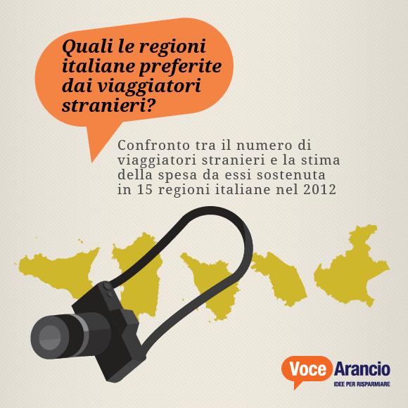 Quali le regioni italiane preferite dai viaggiatori stranieri?