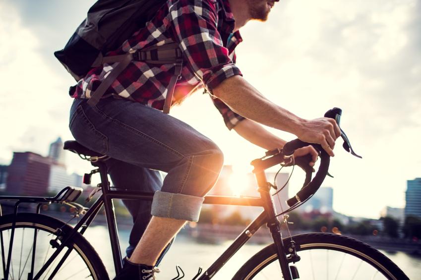Quando ti sposti in bicicletta?