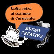 Dalla calza al costume di Carnevale!