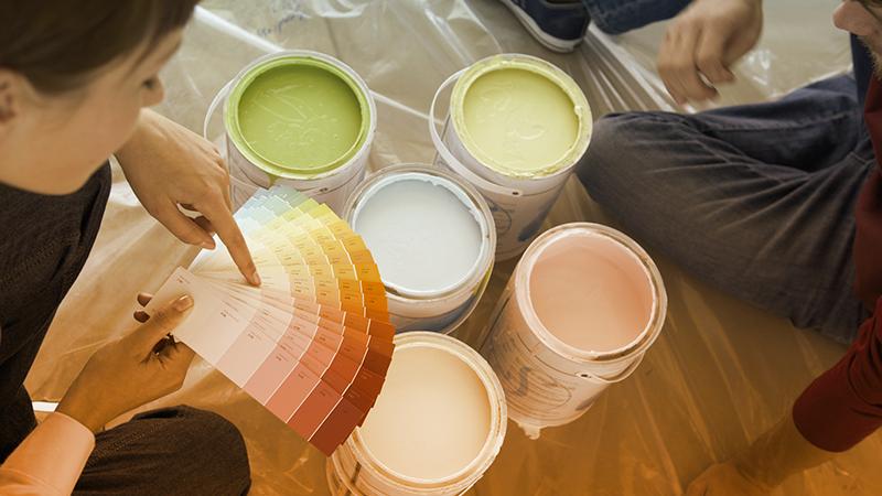 Dai colore alla tua casa