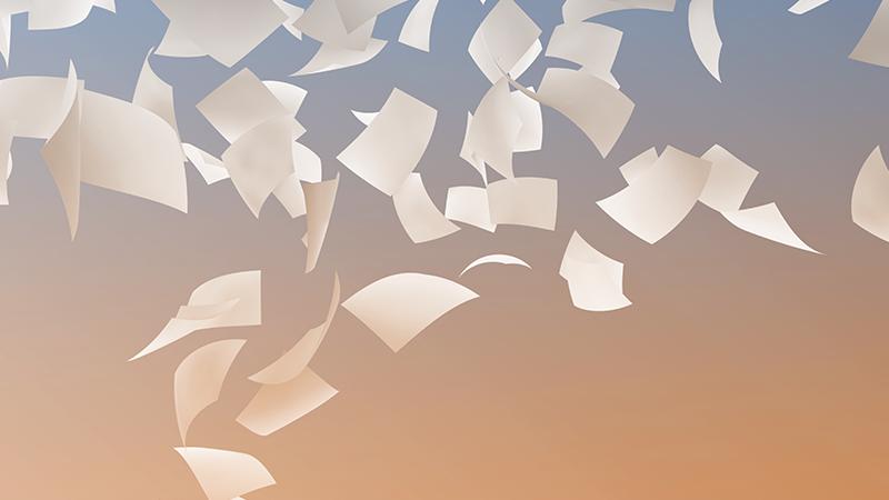 10 consigli per non sprecare carta
