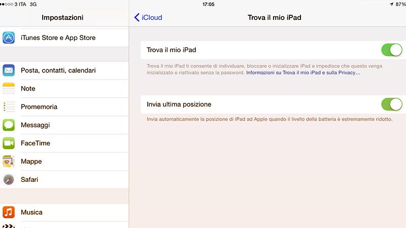 """1. Trovate il vostro telefono o tablet, anche se spento. Ebbene si, ora iPhone e iPad possono inviare la loro ultima posizione a Find my Phone. Una volta spenti, potrete """"trovarli"""" direttamente con l'aiuto di iCloud."""
