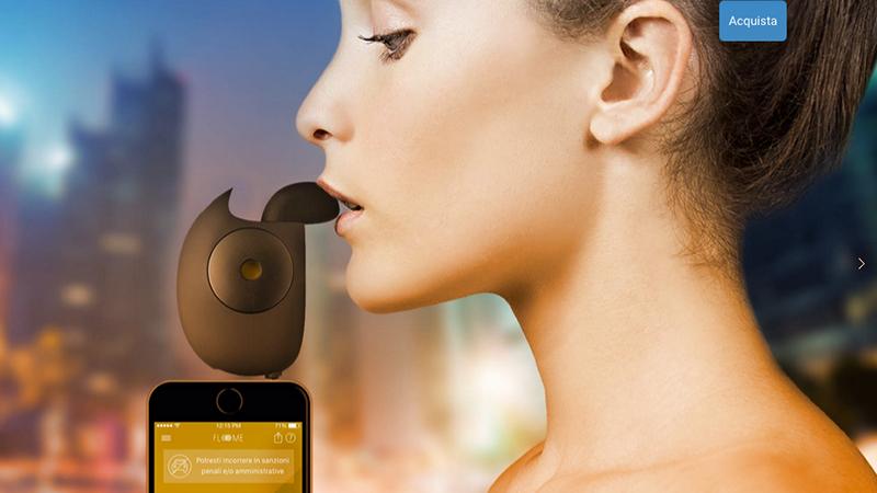 2. Floom, l'etilometro per smartphone