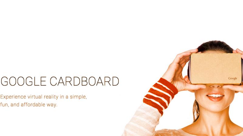 4. Google Cardboard, la realtà virtuale di cartone