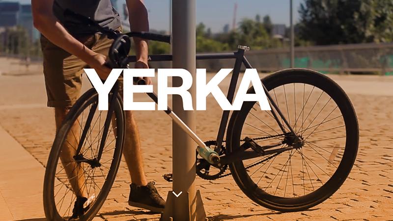 1. Yerka, la bici impossibile da rubare