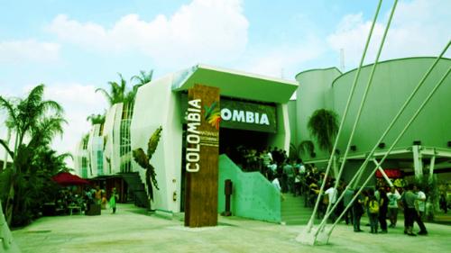 Expo, tutti i climi del mondo nel padiglione Colombia