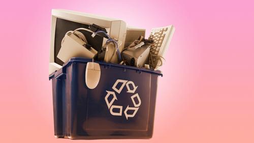 Rifiuti elettronici: come smaltirli o riutilizzarli