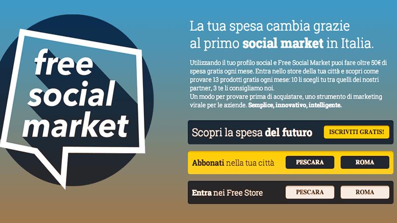 FreeSocialMarket app