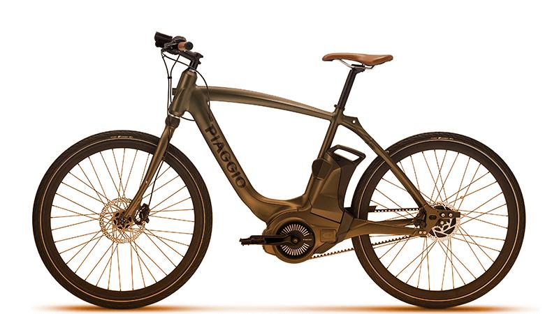 Wi-Bike - l'italiana Piaggio ha proposto un nuovo concetto di spostamento a due ruote, in connessione con lo smartphone. (piaggio.com)