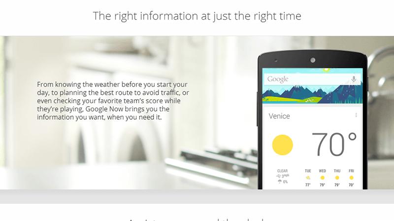 Google Now - Adesso si può usare la ricerca vocale su ogni dispositivo.