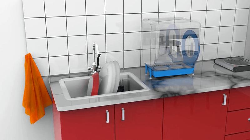 La lavastoviglie a manovella Circo Independent è pronta e in cerca di investitori