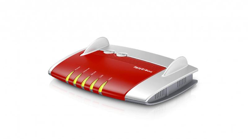 FRITZ!Box 7490 è un router/modem veloce e trasmette a doppia banda