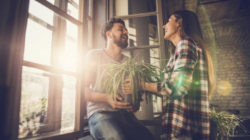 Come trasformare il vostro appartamento in un giardino