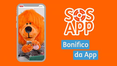 #SOSApp: come fare un bonifico via App