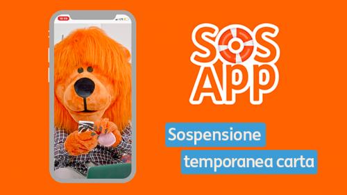 #SOSApp: come richiedere la sospensione temporanea e il blocco della carta
