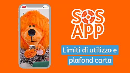 #SOSApp: come gestire limiti e plafond della tua carta